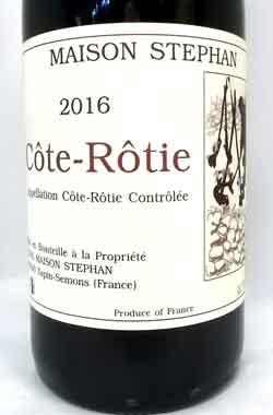 ジャン・ミッシェル・ステファン  コート・ロティ 2016 フランス産赤ワイン