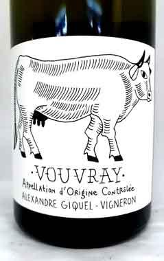 アレクサンドル ・ギゲル ヴーヴレ フランス産白ワイン
