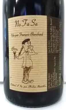 ドメーヌ・グラン・クレレ ノファサ・ブラン フランス産白ワイン SO2無添加 クール便