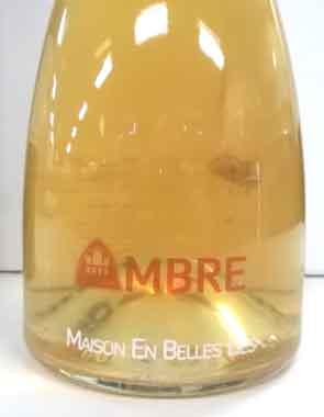 アン・ベル・リー アンブル ビオディナミ フランス産白ワイン SO2無添加 クール便