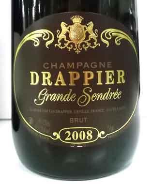 ドラピエ グラン・サンドレ 2008 シャンパーニュ