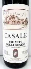 カザーレ キャンティ・コッリ・セネージ イタリア産赤ワイン