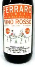 フェッラーロ・マウリッツォ ドゥエ・パッツィ イタリア産赤ワイン SO2無添加クール便
