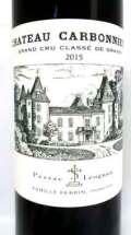 シャトー・カルボニュー 赤 2015 Chateau Carbonnieux Rouge ボルドー産赤ワイン