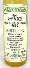 ラバスコ ビアンコ・カンチェリーノ イタリア産白ワイン クール便