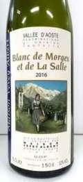 ヴァレ・ダオスタ産白ワイン ヴェヴェイ・アルベール ブラン・ド・モルジュ エ・ド・ラ・サル ノン・フィルトラート Vevey Albert