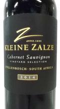 クライン・ザルゼ ヴィンヤード・セレクション カベルネ・ソーヴィニョン 南アフリカ産赤ワイン