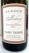 マルク・テンペ ゲヴュルツトラミネール ツェレンベルグ フランス産白ワイン