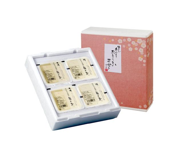 手作りお豆腐4丁セット (商品番号:100434)