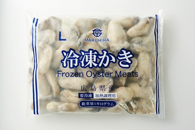 冷凍生かき(加熱調理用)