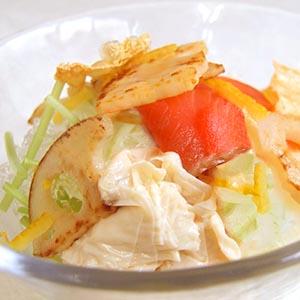 生湯葉サラダ