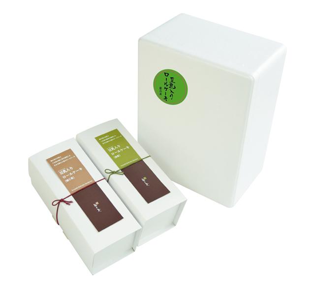 豆乳入りロールケーキ2種セット (商品番号:101003)