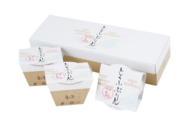 【卵・乳不使用】とうふぷりん3個セット (商品番号:100998)