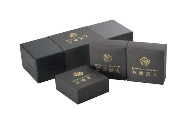 豆腐美人(化粧石鹸)3個セット【泡立て用ネット付き】 (商品番号:100742)