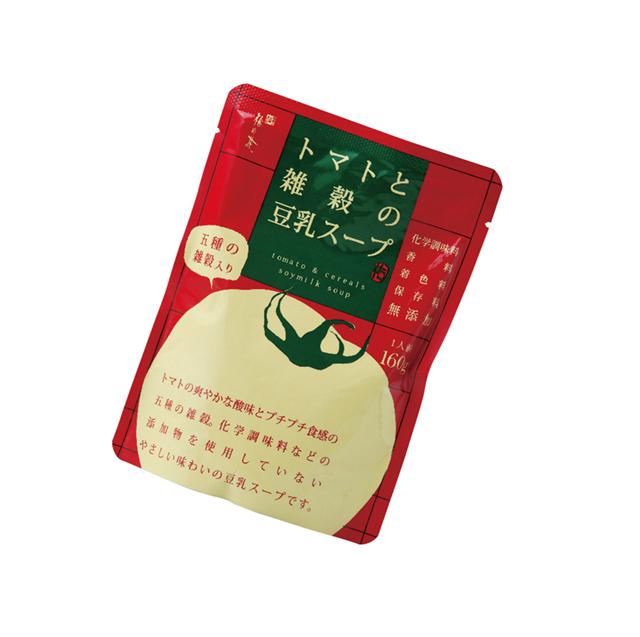 トマトと雑穀の豆乳スープ (商品番号:101005)