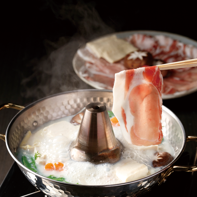 豆乳しゃぶ鍋