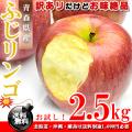 青森県産 ふじりんご お徳用 2.5kg