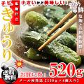 ちび きゅうり 塩麹漬 520g 胡瓜 漬物 送料無料