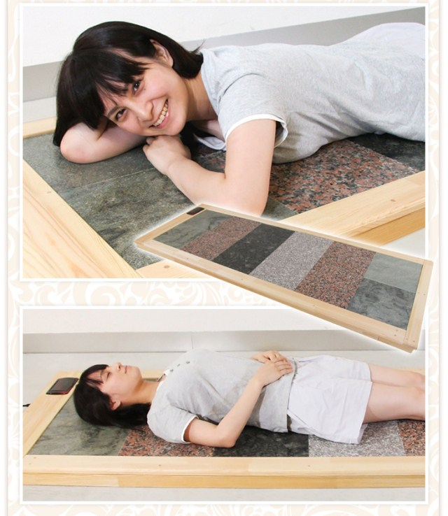 hot spa stone bed