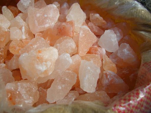 ヒマラヤ岩塩 ピンク ブロック 25kg 【1-10センチ前後】 【食用】 【送料無料】
