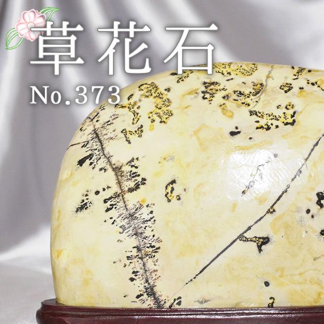 【ピクチャーストーン】草花石No.373(観賞用鉱石)