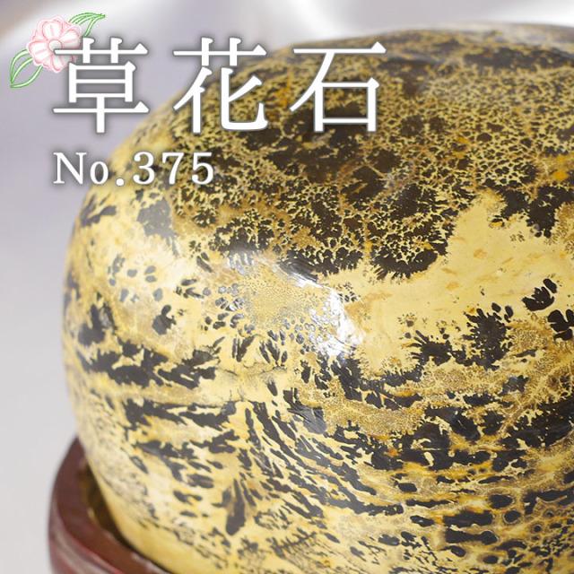 【ピクチャーストーン】草花石No.375(観賞用鉱石)