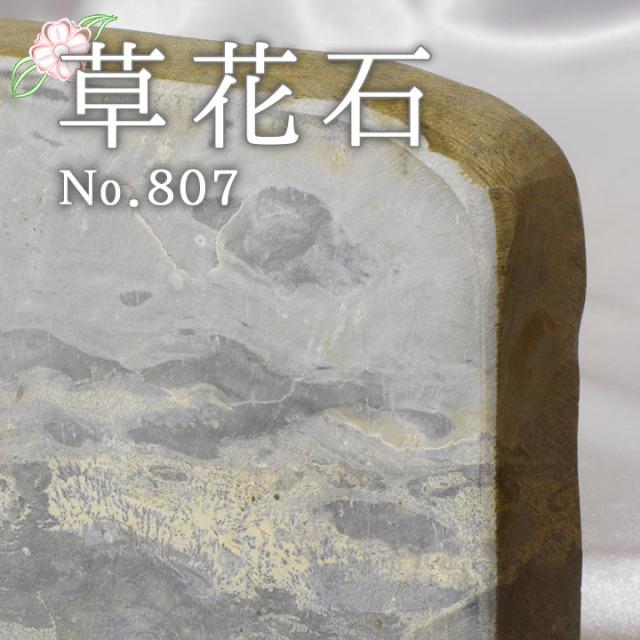 【ピクチャーストーン】草花石No.807(観賞用鉱石)
