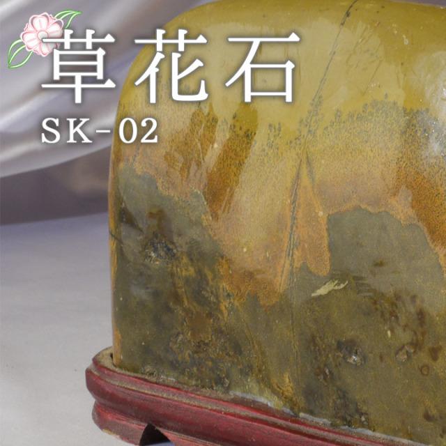 【ピクチャーストーン】草花石SK-02(観賞用鉱石)