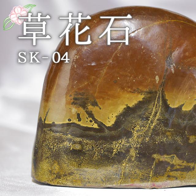 【ピクチャーストーン】草花石SK-04(観賞用鉱石)