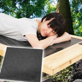 鹿児島県産杉桜島溶岩浴ベッド