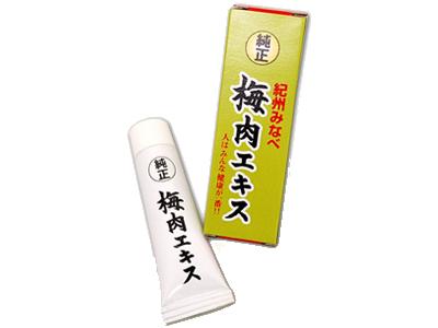 純正 梅肉エキス チューブ入り チューブ入り 40g 【包装不可】