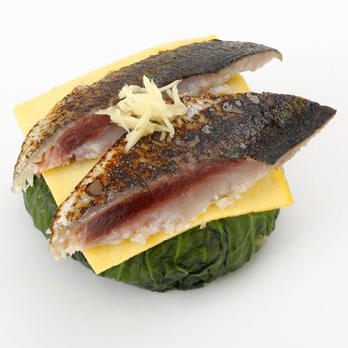 わさび葉寿司 炙り鯖