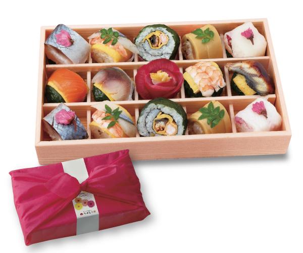 ◆冷凍◆母の日手鞠寿司 15個入り
