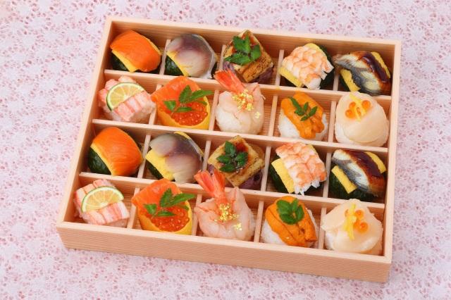 ◇冷蔵◇はれやか贅沢手鞠わさび葉寿し(20個)