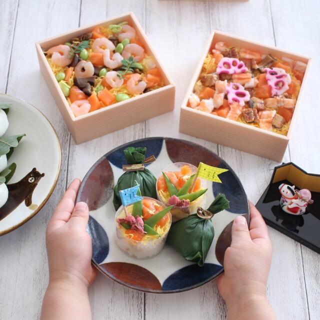 ◆冷凍・予約販売◆すこやか手鞠ちらし寿しセット★4月25日から発送開始★