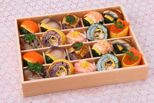 手鞠寿司秋冬20個