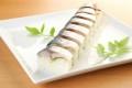 旬鯖棒寿司 (八貫)