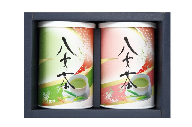 八女茶缶2本セット