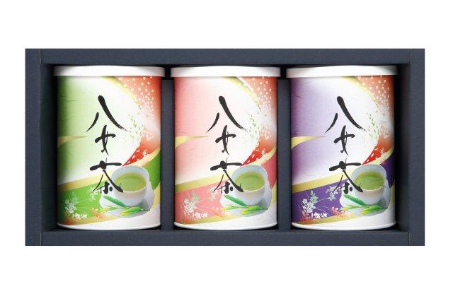 八女茶缶3本セット