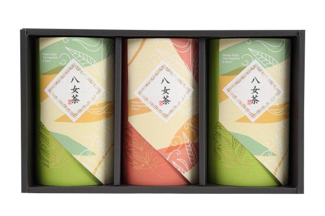 八女茶選集3本セット