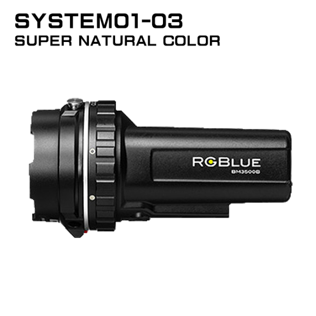 【RGBlue】 System01-3 スーパーナチュラルカラー/標準バッテリー★ワイドタイプ