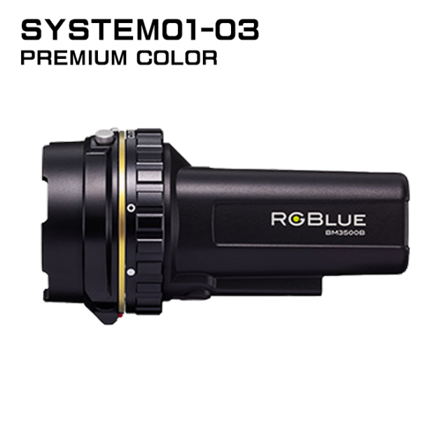 【RGBlue】 System01-3 プレミアムカラー/標準バッテリー★ワイドタイプ