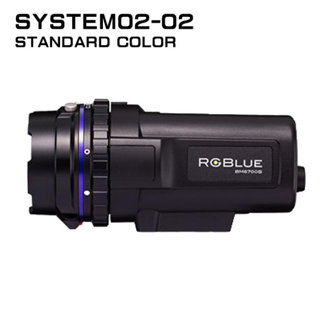 【RGBlue】 System02-2 スタンダードカラー/大容量バッテリー★ワイドタイプ
