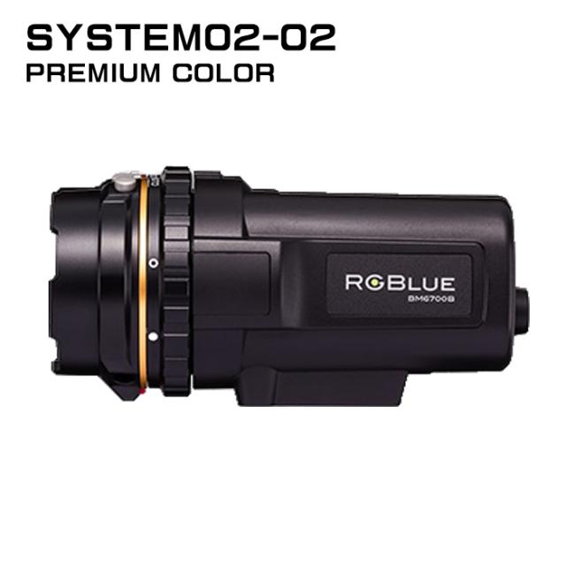 【RGBlue】 System02-2 プレミアムカラー/大容量バッテリー★ワイドタイプ