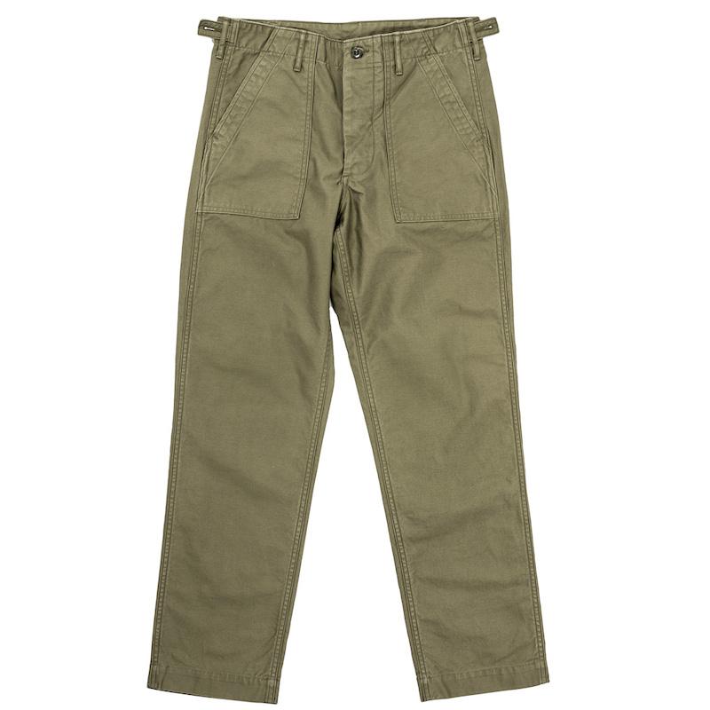 Baker Pants Slim Vat Dyed OD