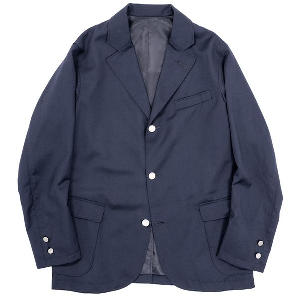 Blazer Dark Navy Wool Serge