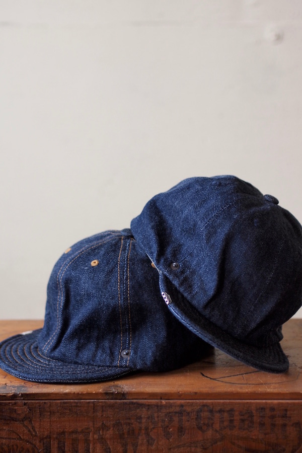 DECHO×Anachronorm Denim Ball Cap-1