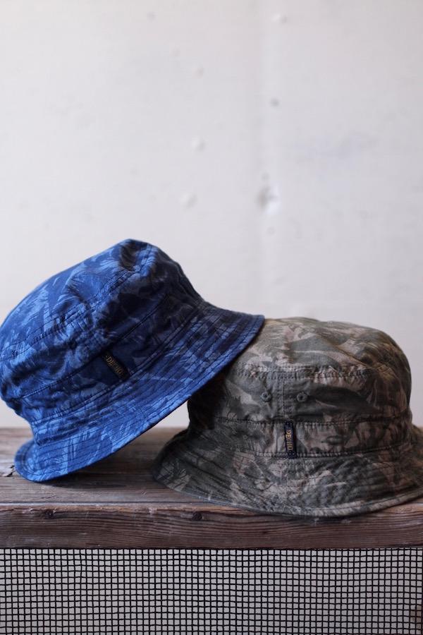 Decho Safari Bucket Hat Leaf Camo-1