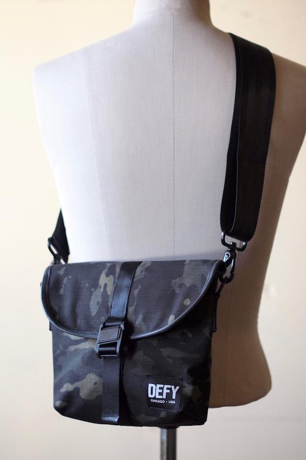 DEFY BAGS Venue Black CAMO Corudra-1