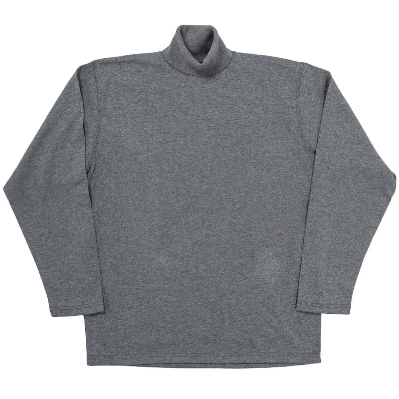 FC High Gauge Knit Turtle Neck Grey